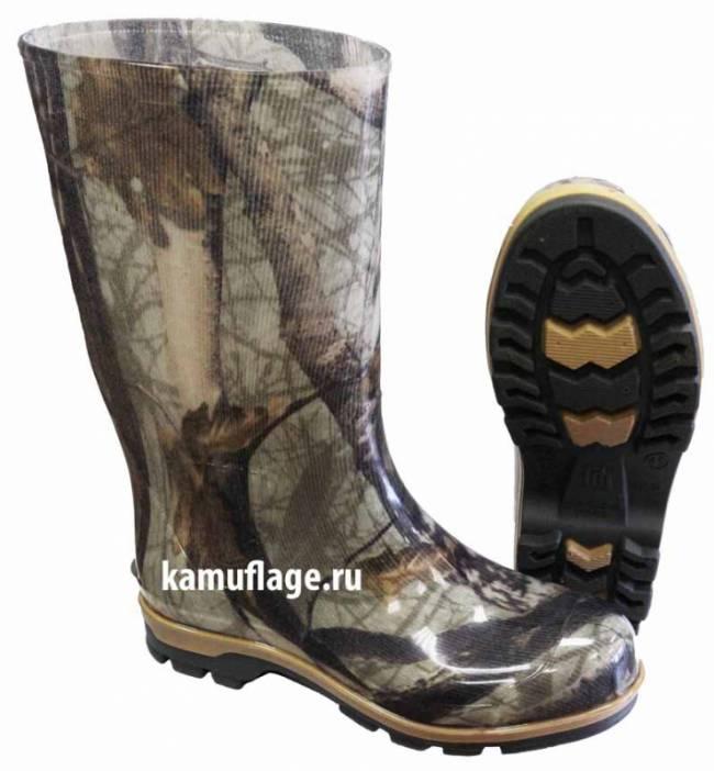 Сапоги мужские КМФ.  277x300 - 740x800kamuflage.ru.